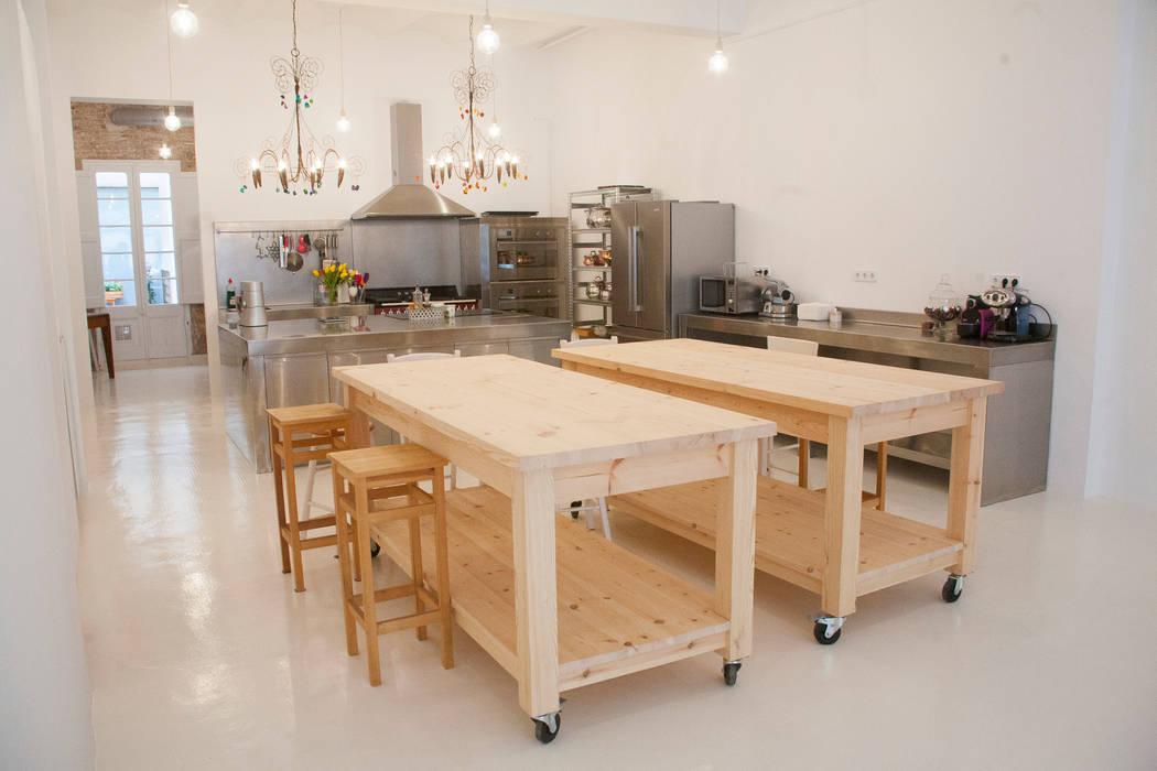 cocina a medida de Fdesignstudio: Cocinas de estilo industrial de F Design Studio