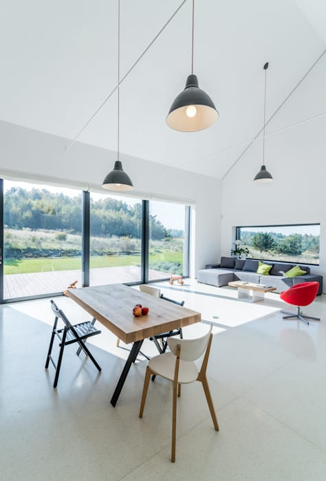 KROPKA STUDIO'S PROJECT Modern Dining Room by Kropka Studio Modern