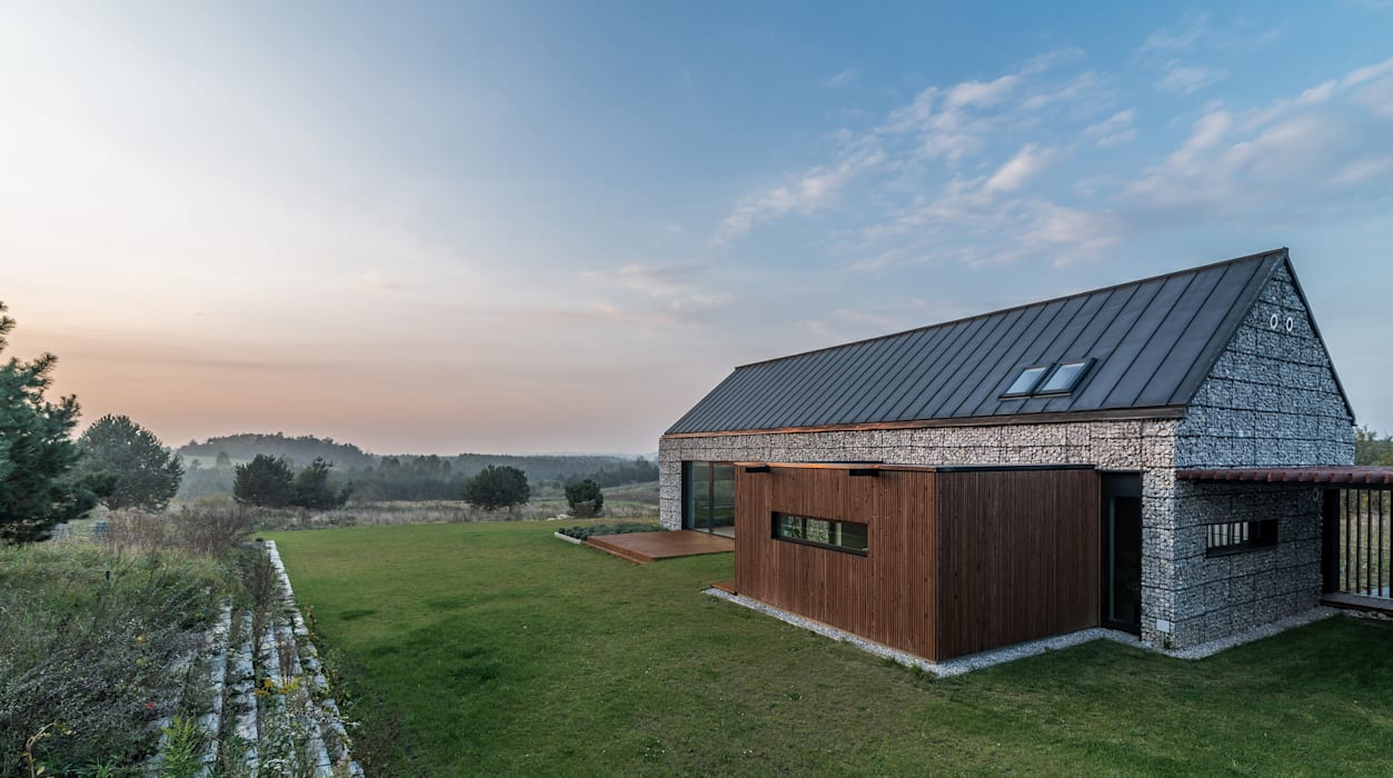 KROPKA STUDIO'S PROJECT Rumah Modern Oleh Kropka Studio Modern
