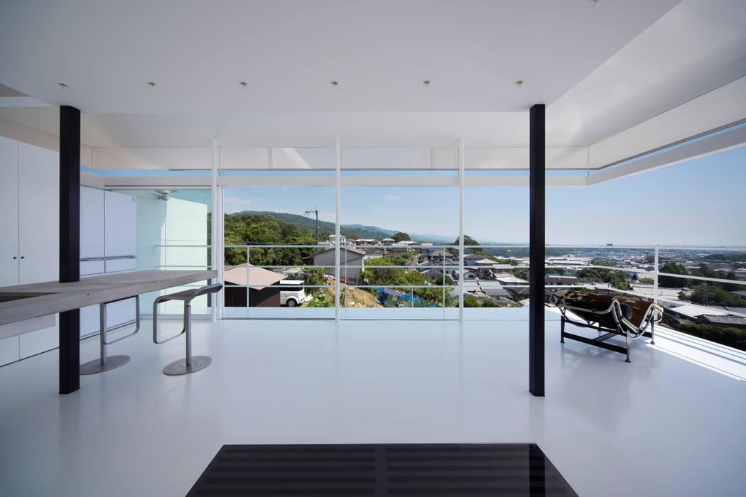 House in Narazaka Yoshiaki Yamashita Architect&Associates Rooms