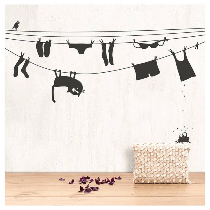 cats on appletrees Parede e pisoDecoração de parede