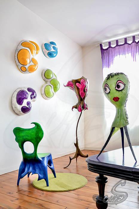 Décor S-Kif Maisons originales par Sandy Pouget/S-Kif Éclectique
