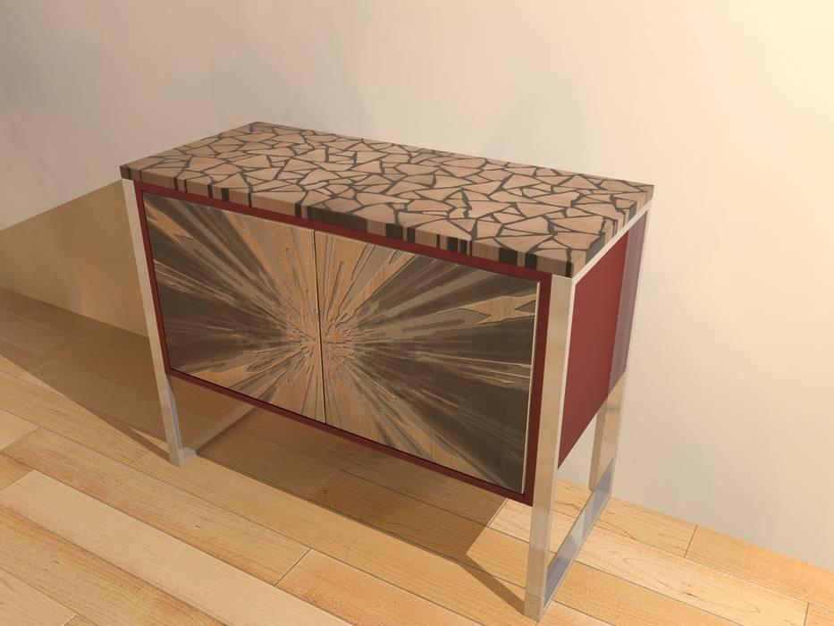Woidboard Abstrakt Hirnholz Eiche: modern  von Haubiz Design,Modern