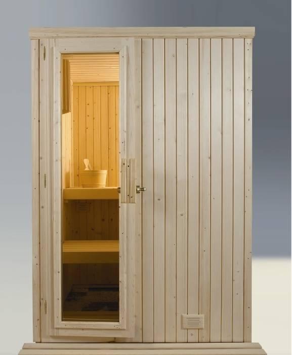 Sauna modelo 2 Spa de estilo escandinavo de Saunas Durán Escandinavo