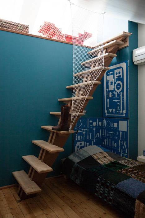 Une mezzanine qui fait rêver Chambre d'enfant moderne par mllm Moderne