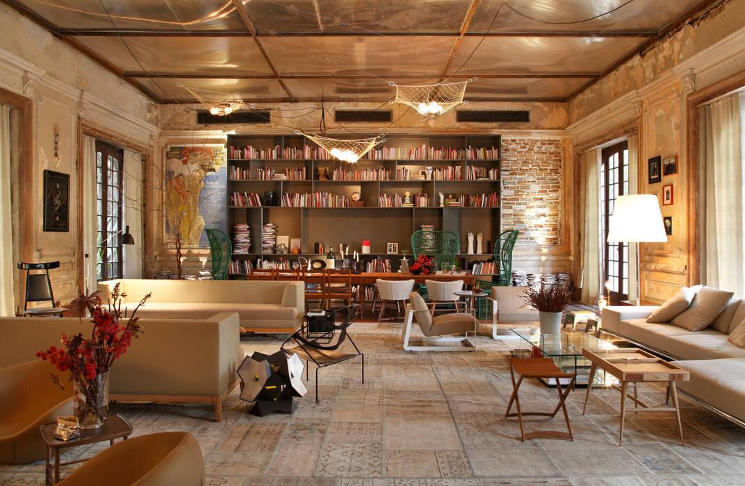Hotel lounge - Casa Cor Rio 2012 Livings de estilo clásico de Gisele Taranto Arquitetura Clásico