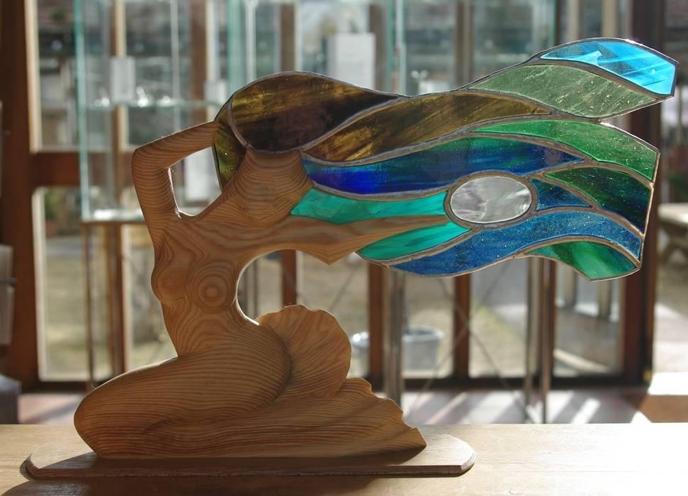 mixed media: modern  by Maritima Wood Carving, Modern
