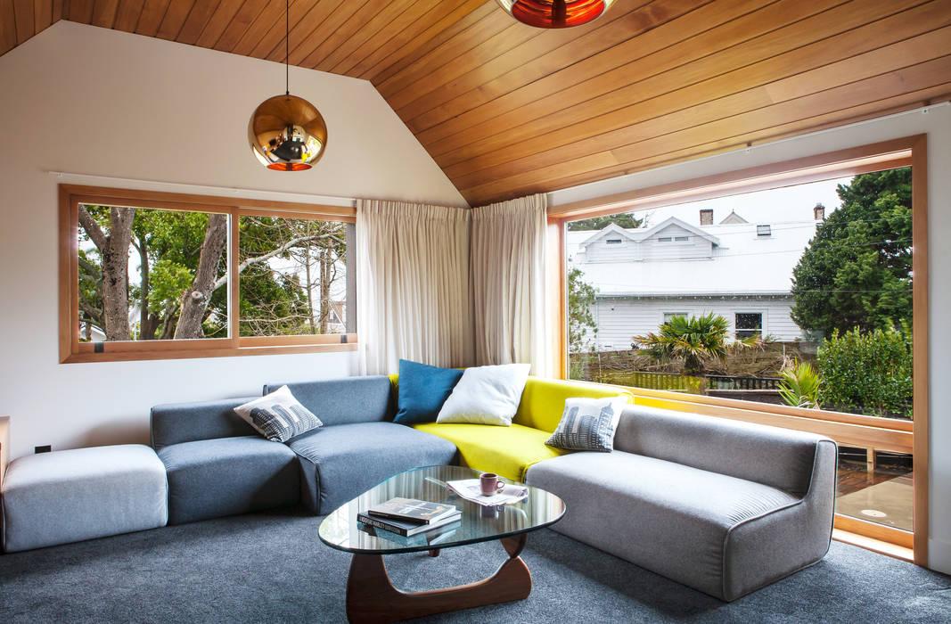 Salas / recibidores de estilo  por Dorrington Atcheson Architects, Moderno