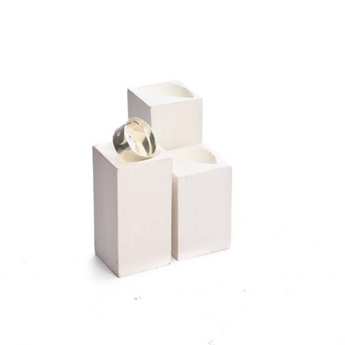 Ringhalter, Ringständer, Ringsäulen 3 Set: modern  von Alkita GmbH,Modern
