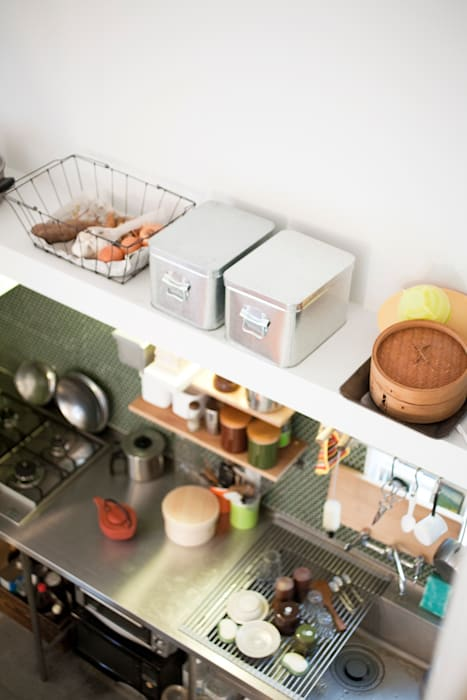 straight design lab Scandinavian style kitchen