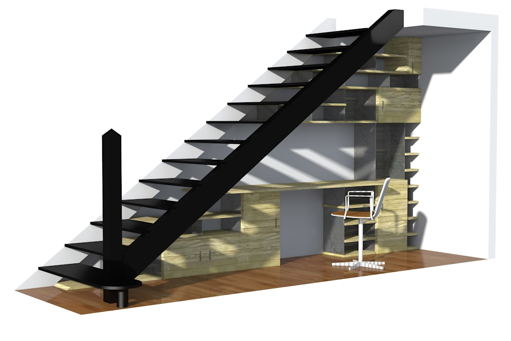 Duplex Lyon Maisons modernes par ETNO Architecture Moderne