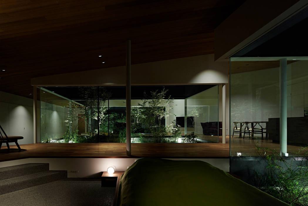 House in Higashimurayama Ruang Keluarga Modern Oleh 石井秀樹建築設計事務所 Modern