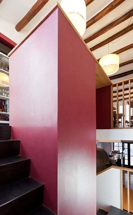 ACABADOMATE Moderner Flur, Diele & Treppenhaus