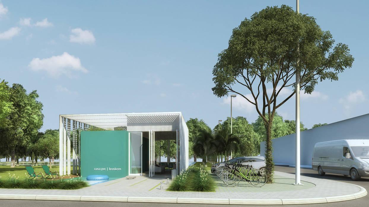 CASA PVC _ BRASKEM: Casas  por AF Arquitetura