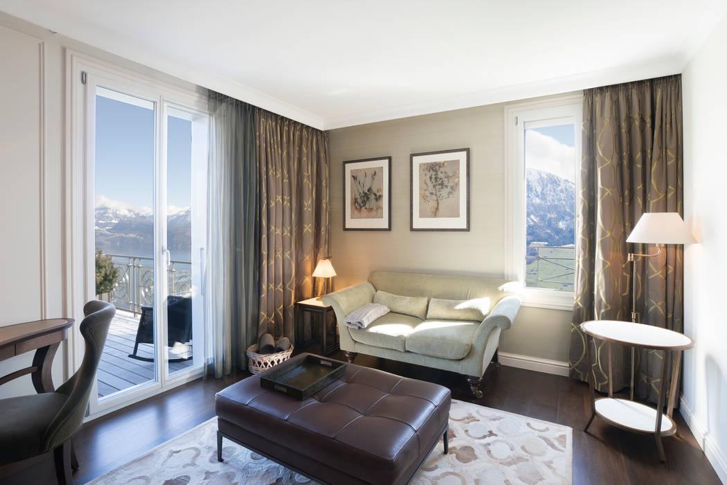 Hotel Villa Honegg Scandinavian style hotels by Jestico + Whiles Scandinavian