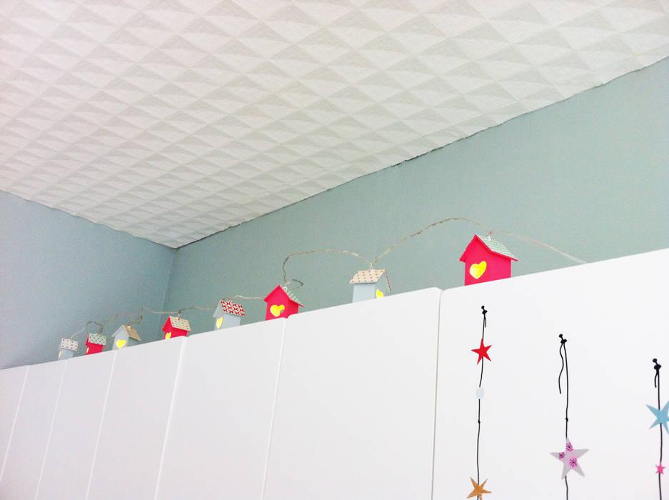 Veilleuse maisons Chambre d'enfant par Judith Wolff Architecte d'intérieur
