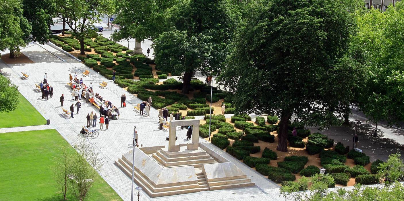 Museums by Kamel Louafi Landschaftsarchitekten