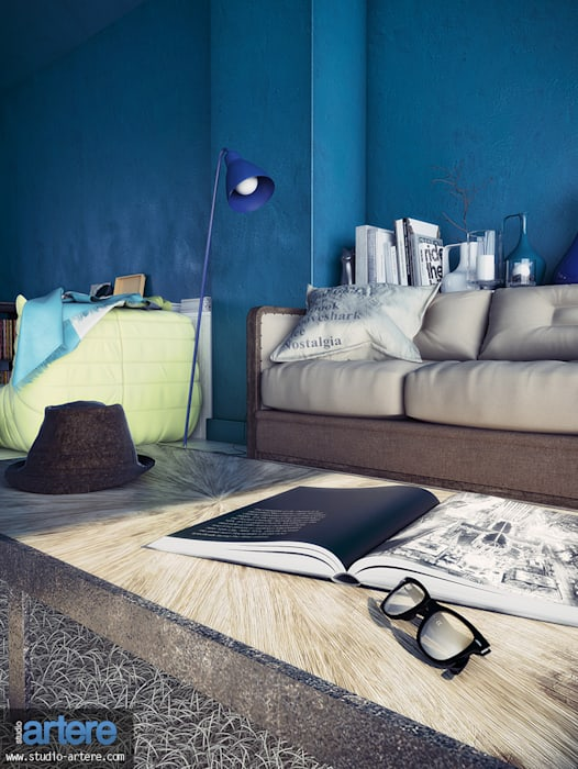 Hipsters: Salon de style  par Studio Artere