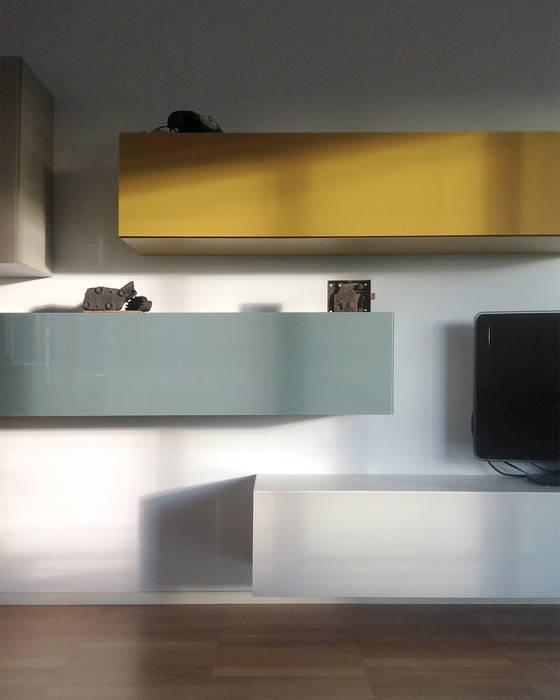 appartamento Case moderne di Pelizzi Architettura Moderno
