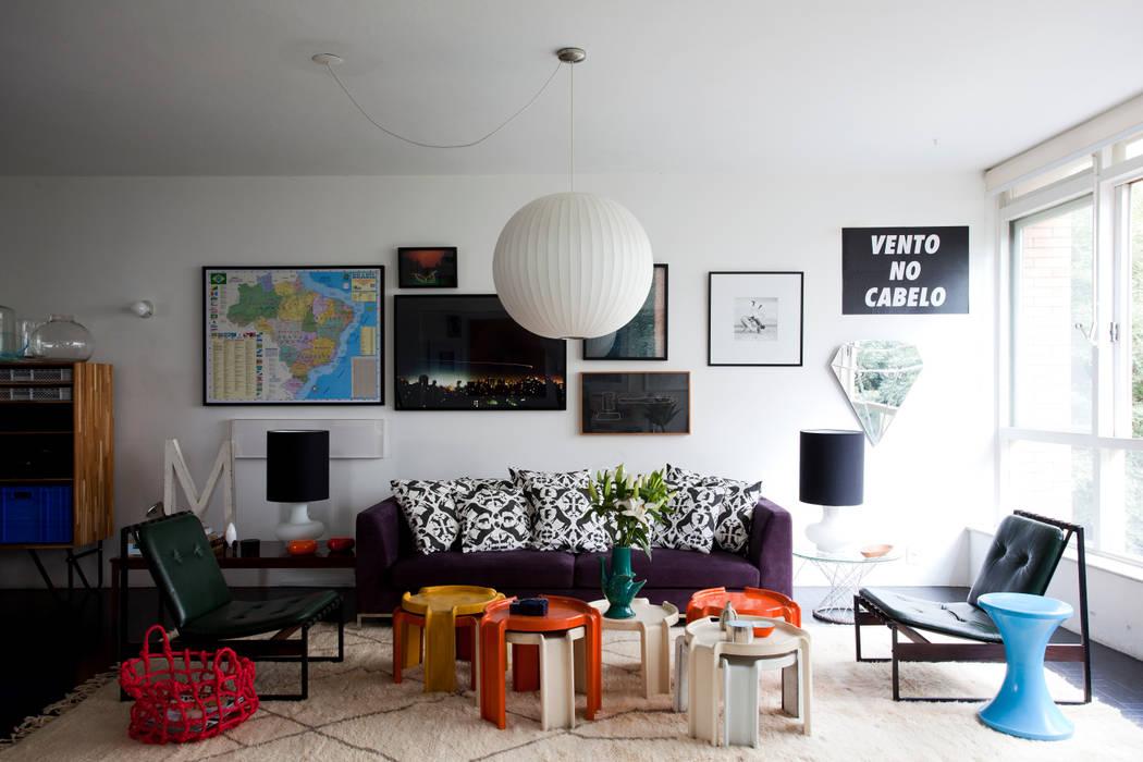 Salon de style  par Mauricio Arruda Design