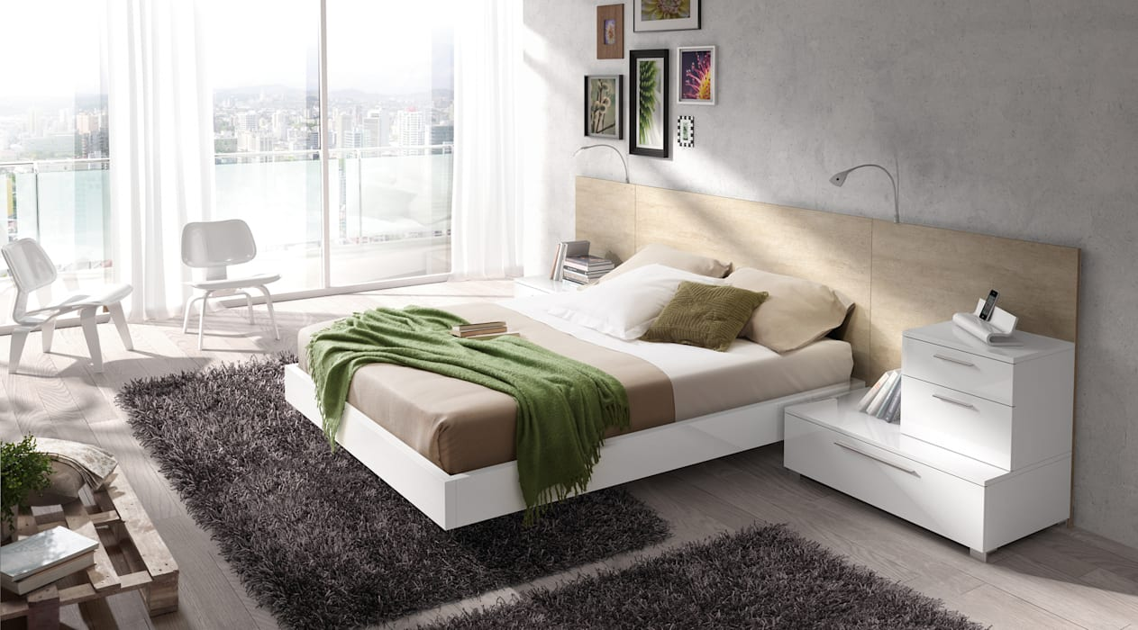 Modern Yatak Odası Baixmoduls Modern