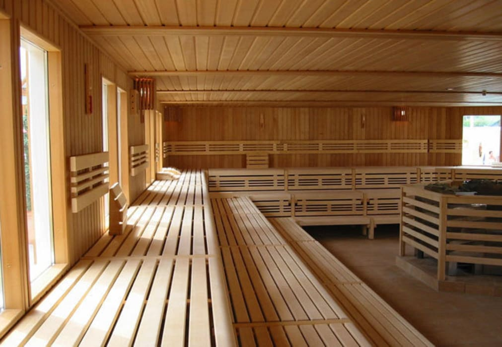 Gut bekannt Gewerbliche sauna mit großzügigen abmessungen.: sauna von corso BF79