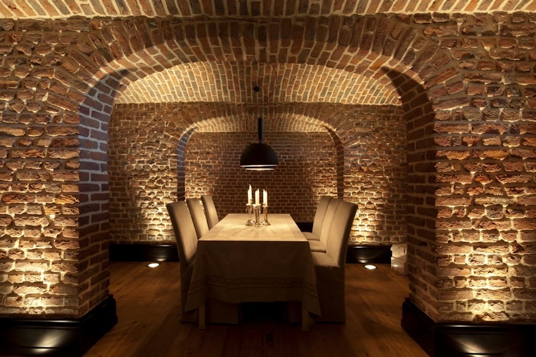 Ruang Makan Modern Oleh SONJA SPECK FOTOGRAFIE Modern