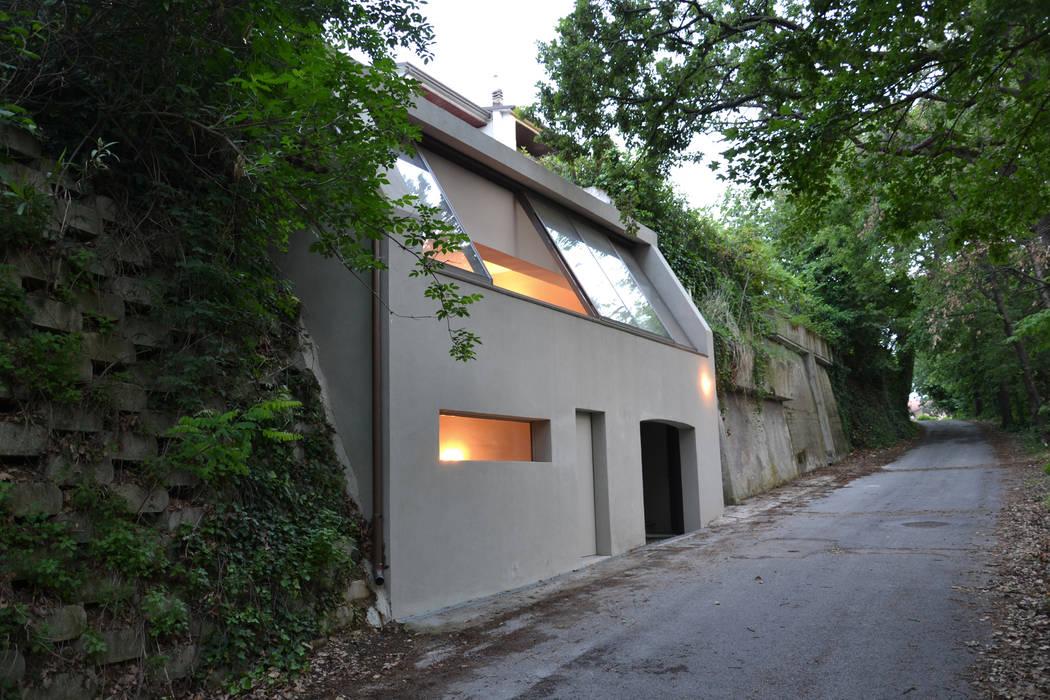 Ristrutturazione casa di vacanza Gabicce Monte, esterno BARTOLETTI CICOGNANI Casa rurale