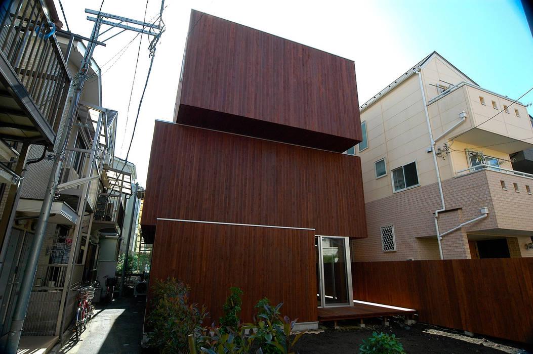 外観 モダンな 家 の 仲摩邦彦建築設計事務所 / Nakama Kunihiko Architects モダン
