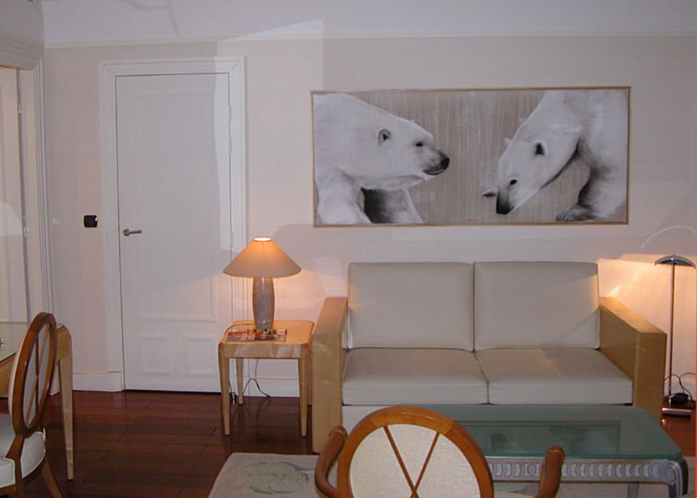 Hotels In-situ animal painting Thierry Bisch - Peintre animalier - Animal Painter Classic hotels
