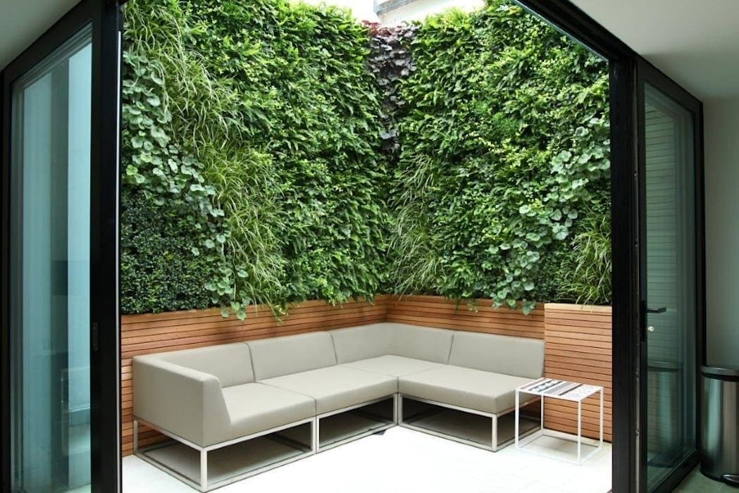 "Private Courtyard, London, Living Wall: {:asian=>""asian"", :classic=>""classic"", :colonial=>""colonial"", :country=>""country"", :eclectic=>""eclectic"", :industrial=>""industrial"", :mediterranean=>""mediterranean"", :minimalist=>""minimalist"", :modern=>""modern"", :rustic=>""rustic"", :scandinavian=>""scandinavian"", :tropical=>""tropical""}  by Biotecture,"