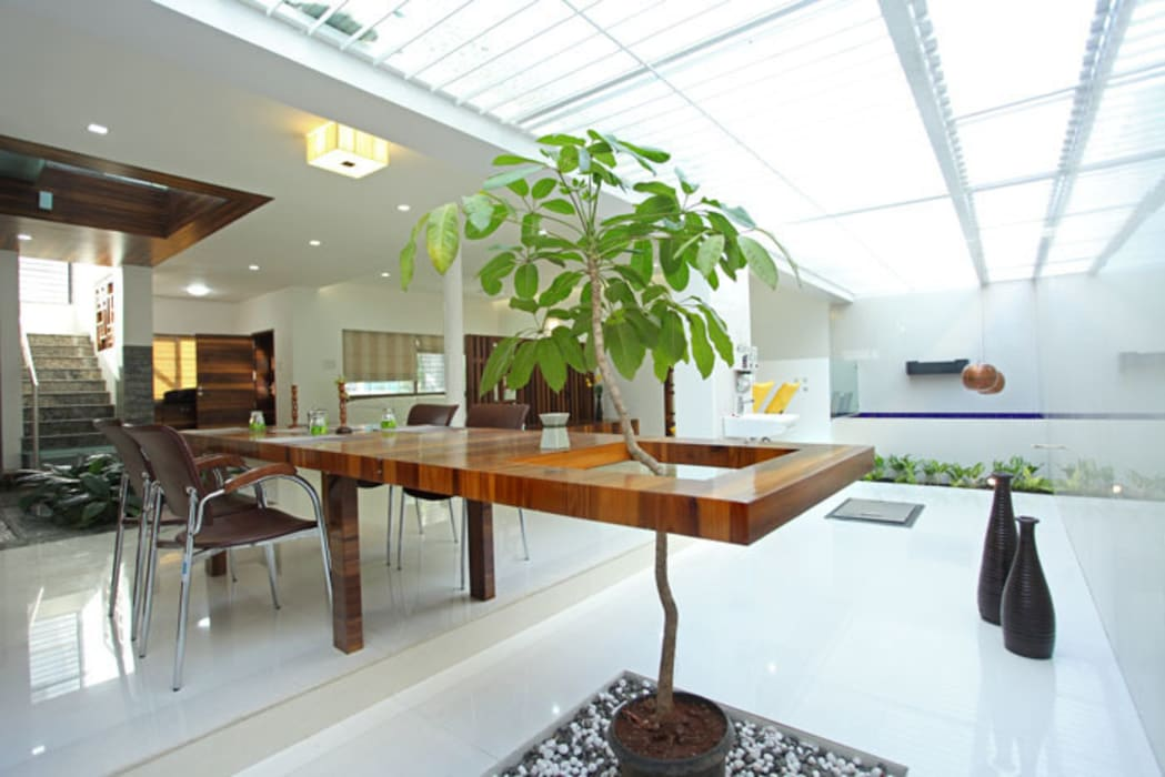 modern  by manoj bhandari architects, Modern