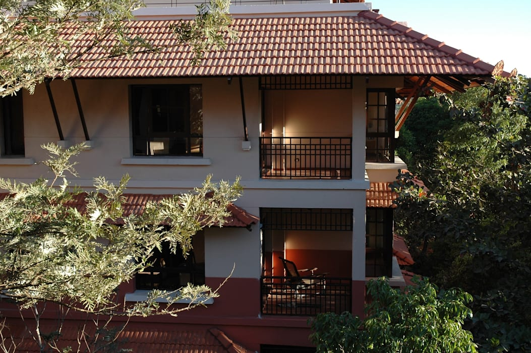 Kodagu Valley Resort Rooms by I.M.Kadri Architects
