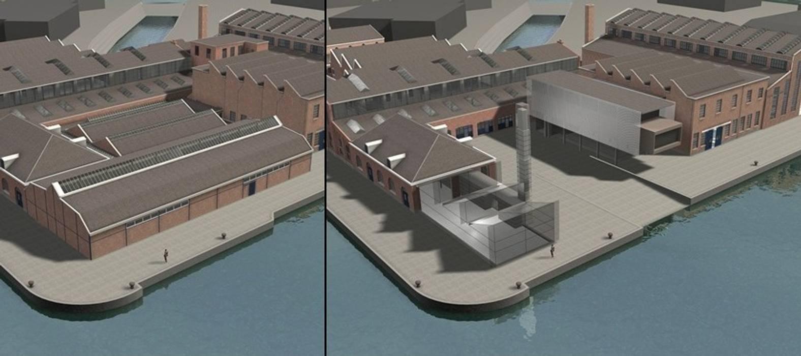 Voor en na de renovatie... van Erik Knippers Architect Industrieel