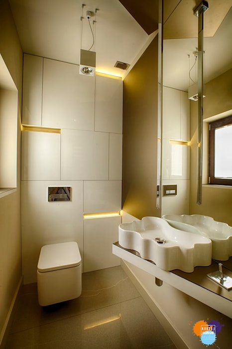 Bathroom by Studio Projektowe Projektive, Modern