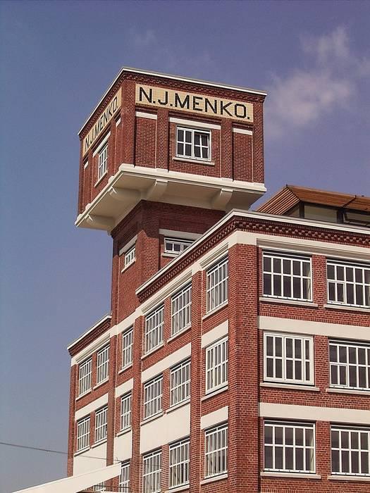 Watertoren Industriële evenementenlocaties van Erik Knippers Architect Industrieel