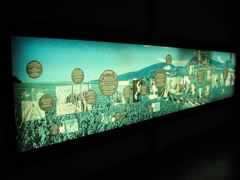 Lichtwände mit art-tectum Foliendecken Ausgefallene Weinkeller von art-tectum Decke-Wand-Licht Ausgefallen