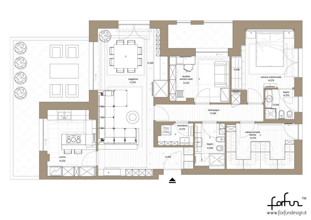 Architetto ANTONIO ZARDONI 現代房屋設計點子、靈感 & 圖片