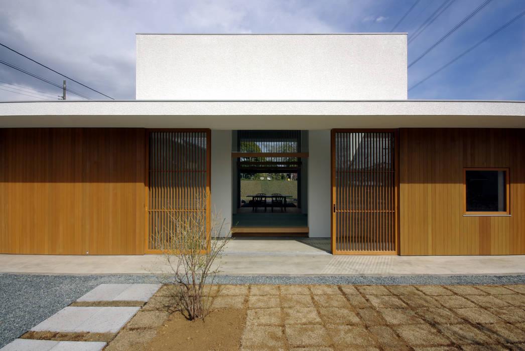 House in Fujinomiya CASE DESIGN STUDIO Moderne Häuser