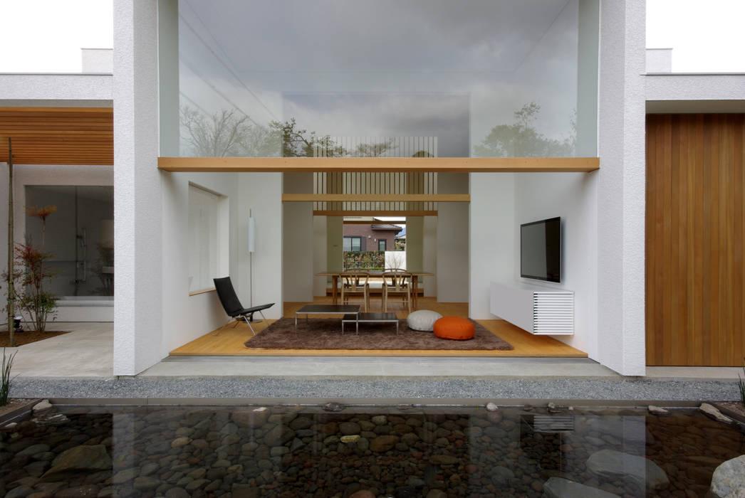 House in Fujinomiya Modern home by CASE DESIGN STUDIO Modern