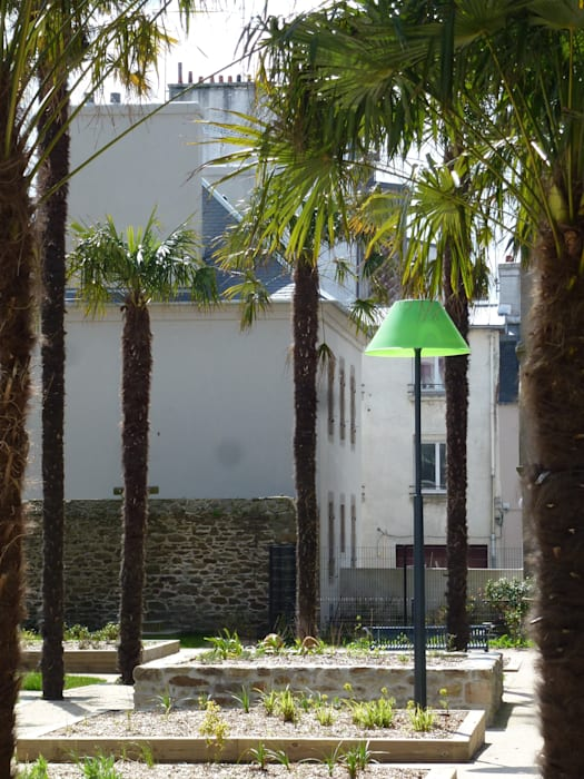 Jardin Jean Giono:  de style  par A3PAYSAGE