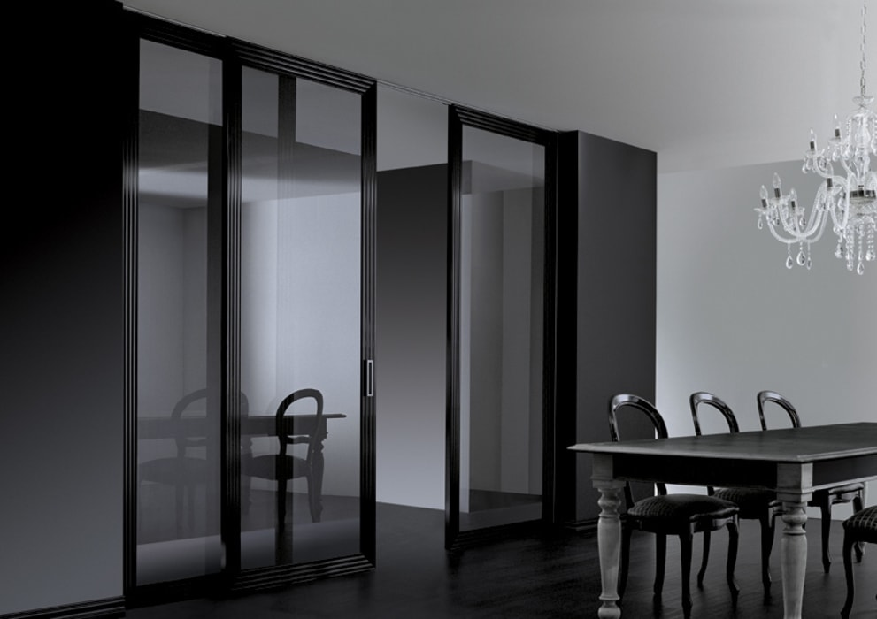 Glass doors by Res