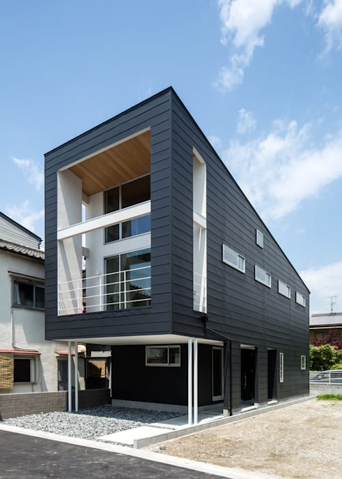 Houses by 株式会社濱田設計測量事務所, Modern