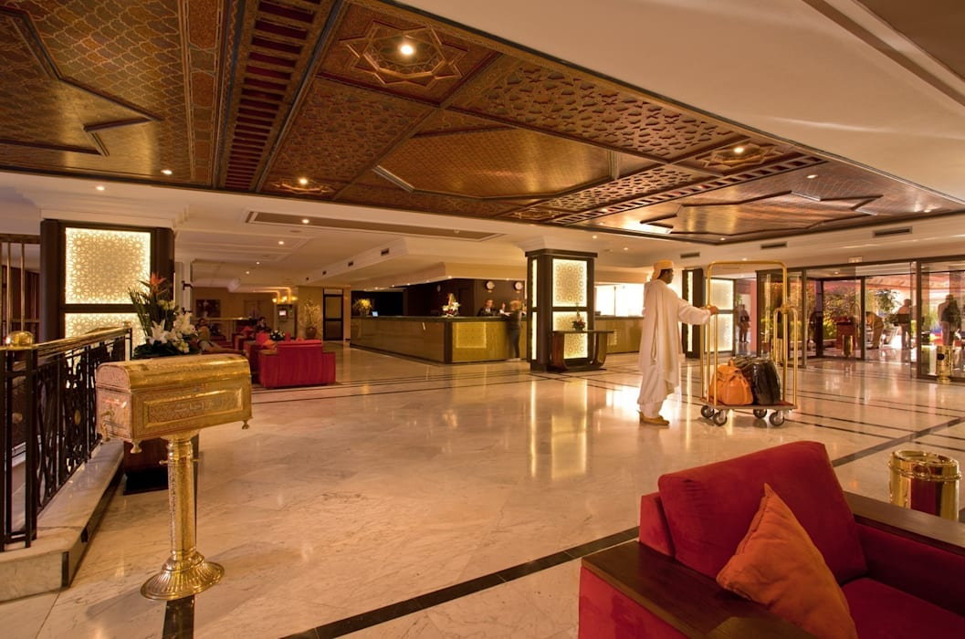 Hotel interior by Marmi di Carrara