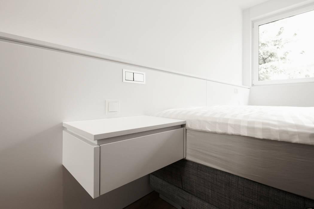 Penthouse Wohnung mitten in Köln Moderne Wohnzimmer von HOME Schlafen & Wohnen GmbH Modern