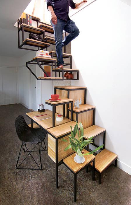 Pasillos, vestíbulos y escaleras industriales de Studio Mieke Meijer Industrial