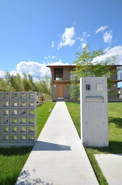 アプローチ モダンな庭 の TEKTON | テクトン建築設計事務所 モダン