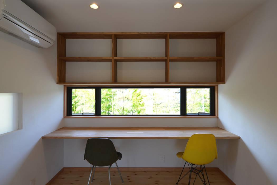 Estudios y despachos de estilo moderno de TEKTON | テクトン建築設計事務所 Moderno