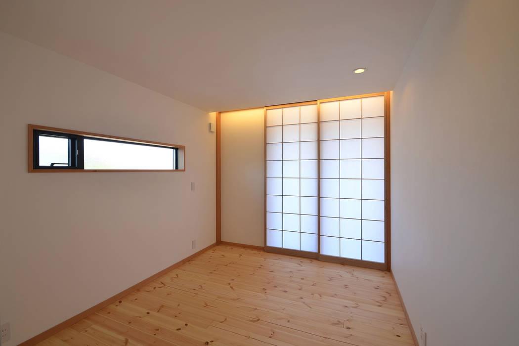 寝室 モダンスタイルの寝室 の TEKTON | テクトン建築設計事務所 モダン