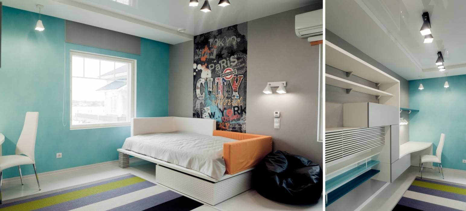 Индивидуальный дом Детские комната в эклектичном стиле от Center of interior design Эклектичный